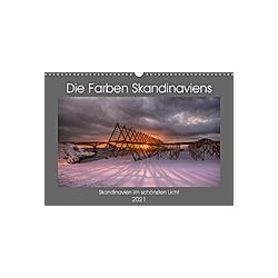 Die Farben Skandinaviens (Wandkalender 2021 DIN A3 quer)