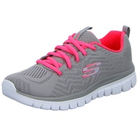 SKECHERS Graceful - Get Connected grey/coral 38