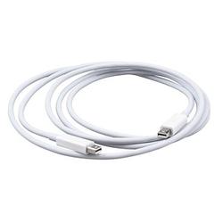 Apple Thunderbolt Kabel Apple Thunderbolt Kabel (2,0 m) – Weiß  2,0 m