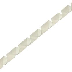 InLine® Spiralband Kabelschlauch 10m, weiß, 10mm