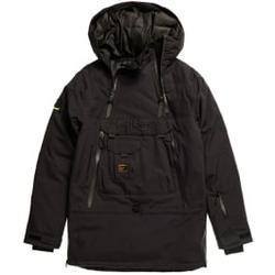 Superdry - Freestyle Overhead Jacket M Black - Skijacken - Größe: M