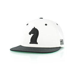 Cap K1X - Knight White/Black (1000) Größe: OS