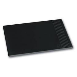 Mousepad La Linea Leder schwarz