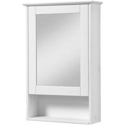 welltime Spiegelschrank Venezia Landhaus Breite 42 cm, mit Spiegeltüren weiß