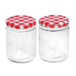 VBS Einmachglas, Klarglas, klar, 2 Stück
