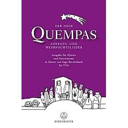 Der neue Quempas  Klavier und Instrumente - Buch