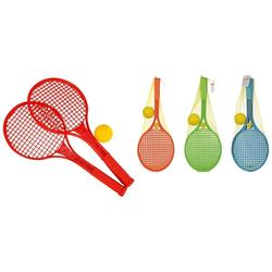 SIMBA Softball Softball Tennis Set - 2 Schläger und Ball rot