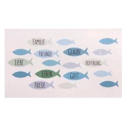 Rayher Wachsmotive Fische blau/grün 1 Pack