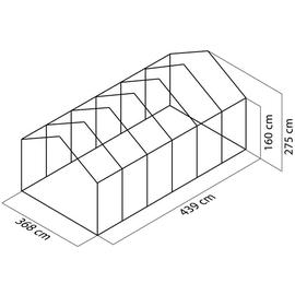 Juliana Gärtner Alu grau ESG 3 mm 16,2 m²
