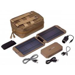 Power Traveller Powerbank Solar Extreme Tactical PTL-EXT001 TAC Solar-Ladegerät Ladestrom Solarzell