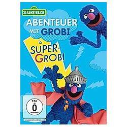 Sesamstraße - Abenteuer mit Grobi & Super-Grobi - DVD  Filme