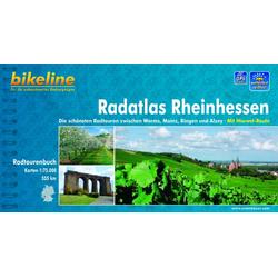Bikeline Radatlas Rheinhessen als Buch von