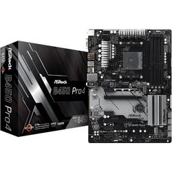 ASRock B450 Pro4 Mainboard Sockel AMD AM4 Formfaktor ATX Mainboard-Chipsatz AMD® B450
