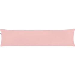 Seitenschläferkissen Piqué, Blush, 40 x 160 cm rosa