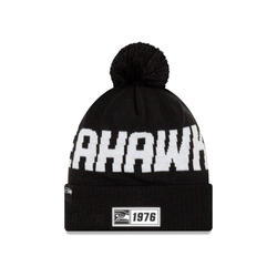 New Era Beanie Knit Onfield 2019 Road Seattle Seahawks