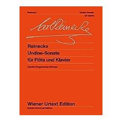 Undine - Sonate für Flöte und Klavier  für Flöte und Klavier - Buch