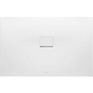 Villeroy & Boch Squaro Infinity Duschwanne 140 × 90 × 4 cm Quaryl® auf Maß