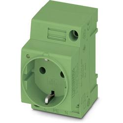 Phoenix Contact Schaltschrank-Steckdose EO-CF/UT/LED/GN Grün 1St.