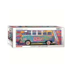 EUROGRAPHICS Puzzle EuroGraphics 6010-5549 Love Bus 1000-Teile Puzzle, 1000 Puzzleteile bunt