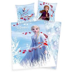 Kinderbettwäsche Disney´s Eiskönigin 2, Disney, mit Elsa, Anna und Olaf