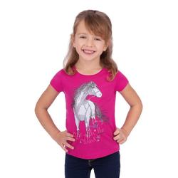 Trigema T-Shirt mit Pferd rot 104