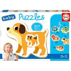 Educa Puzzle. Baby Puzzles Animals 2x2/2x3/4 Teile