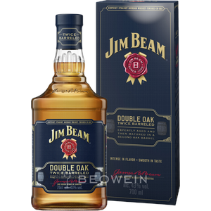 Jim Beam Double Oak Bourbon Whiskey 0,7 l
