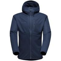 Mammut Ultimate VI Hooded Jacket Men blau XL