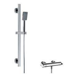 HSK 2.01 Shower-Set mit Safetouch-Thermostat-Armatur