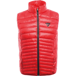 Dainese Packable Down Weste, rot, Größe S