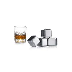 VACUVIN Eiswürfelform Whisky Kühlsteine 4er Set, (4-tlg)