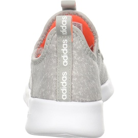 adidas Cloudfoam Pure metal grey/chalk white/signal coral 37 1/3
