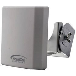 Acceltex Solutions 2.4/5GHz 4/7 dBi 3 Element Indoor/Outdoor Patch Antenna with RPSMA Antenne 7 dB 2