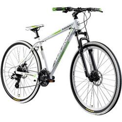 Galano Ravan 29 Zoll Mountainbike MTB Hardtail Fahrrad 24 Gänge Bike 3 Farben... 48 cm, weiß/grün