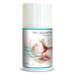 Duftdosen für Duftspender Microspray/Microspray+, 270 ml - Dosen - P+L Washroom Classic, Baby Powder