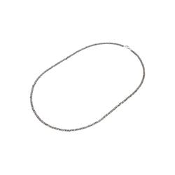 Smart Jewel Collier Steinkette Kristallsteine hämatit, Silber 925