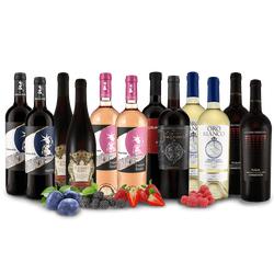 Italienisches Wein-Probierpaket XXL