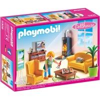 Playmobil Dollhouse Wohnzimmer mit Kaminofen 5308