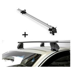VDP Fahrradträger, Fahrradträger Bike Pro + Dachträger K1 MEDIUM kompatibel mit Opel Insignia (4Türer) 13-17