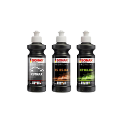 Sonax Profiline 3er Politur Set für Rotation - 250ml
