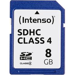 Intenso SDHC Class 4 Speicherkarte (Lesegeschwindigkeit 21 MB/s)