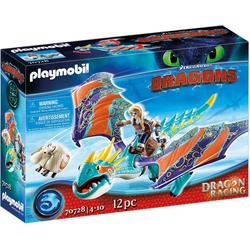 Playmobil® Konstruktions-Spielset Dragon Racing: Astrid und Sturmpfeil (70728), Dragons, Made in Germany