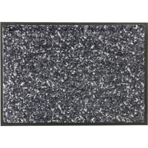 Schöner Wohnen Fußmatte Miami Design 004, Farbe 044 Mezzopoint anthrazit-grau Wunschmaß