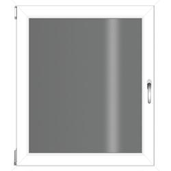 RORO Türen & Fenster Kunststofffenster, BxH: 60x75 cm, ohne Griff