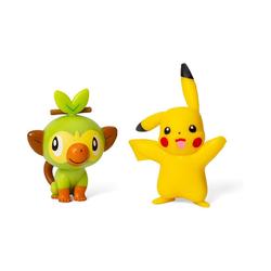 ak tronic Actionfigur Battle Figure Pikachu & Chimpep