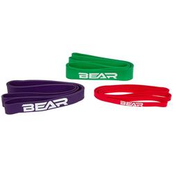 Bear Fitness Bande élastique  3in1 Set, 2.5 - 55 kg