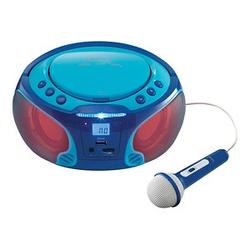 Lenco SCD-650 Tragbarer CD-Player blau