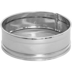 SCHNEIDER Puderzuckersieb, Edelstahlsieb mit feinem Gewebe, Durchmesser: 160 mm