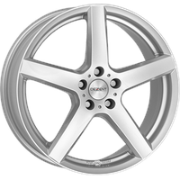 DEZENT TY silver 6.5x17 ET45 - LK5/114.3 ML60.1 Alufelge silber