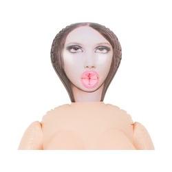 "Liebespuppe ""Lusting Trans"", mit herausnehmbarem Dildo"